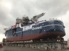 Ørsted cracks bottle on new service operations vessel
