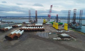 Turbine pre-assembly will take place at Able Seaton Port creating 120 jobs.