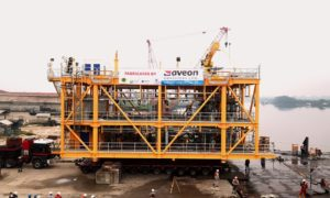 Aveon Offshore has sent off its production deck module for the Anyala field, which is operated by First E&P and NNPC, ahead of moving onto its second phase.
