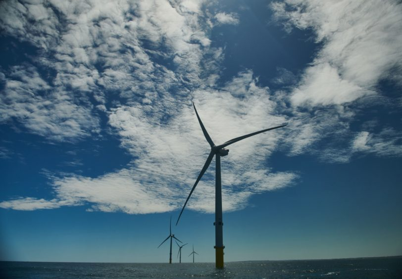 Offshore wind turbines would house the electrolyser