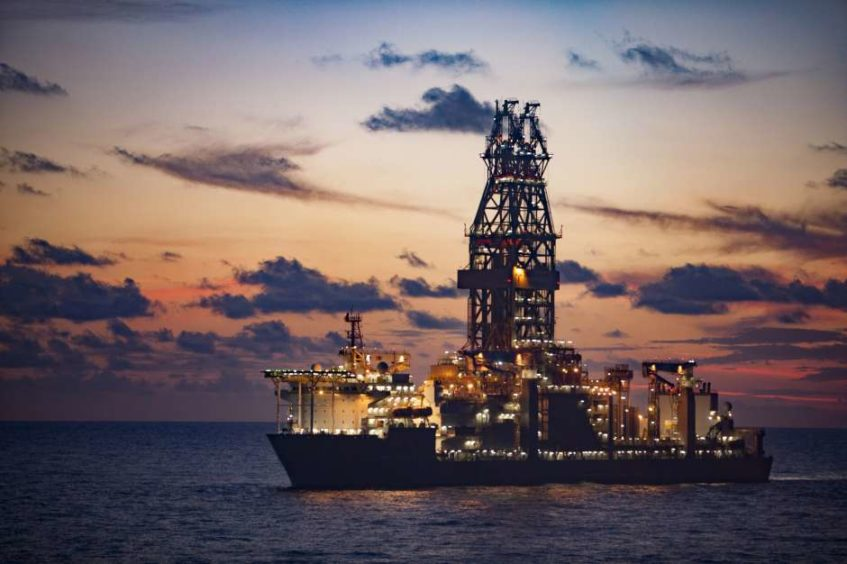 Between 50 and 110 working on the Deepwater Asgard, an ultra-deepwater drillship operating in the Gulf of Mexico, will be laid off after its contract ends. Layoffs are expected to begin on Dec. 15, and affected workers will receive severance, Transocean told the Texas Workforce Commission last Thursday. Image: Houston Chronicle