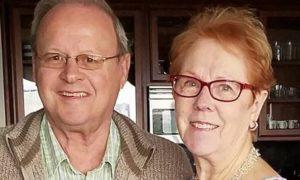 Bob Gilbert with wife Sheila