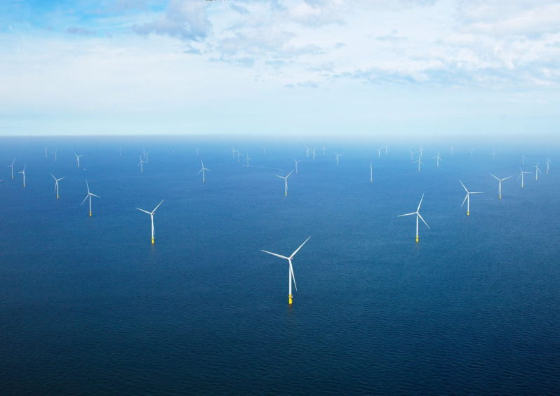 Ørsted's Borssele 1&2 offshore wind farm. Credit: Ørsted