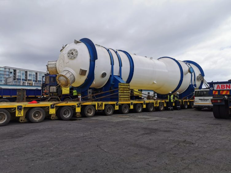 Eskom has overseen the arrival of a first replacement steam generator at its Koeberg nuclear power plant, with installation planned for 2021.