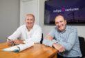 l-r Doug Duguid and Michael Buchan of Indigo 7 Ventures.
