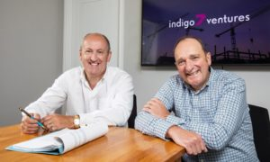 l-r Doug Duguid and Michael Buchan of Indigo 7 Ventures.