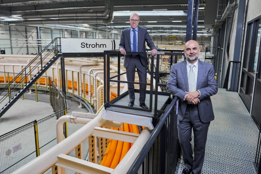 Strohm (left to right) - CCO Martin van Onna and CEO Oliver Kassam