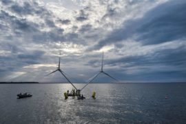 DNV GL gives thumbs up to double rotor floating wind turbine concept