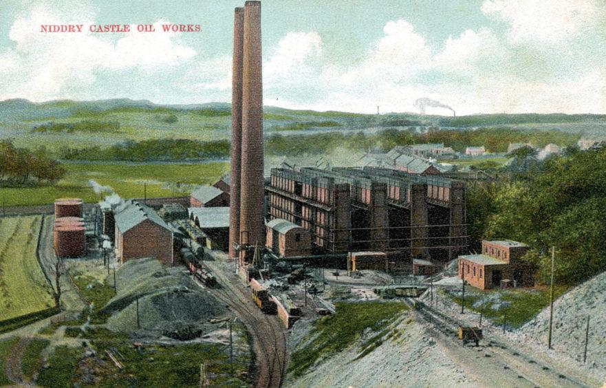 Oakbank Oil Co.'s Niddry Castle works.