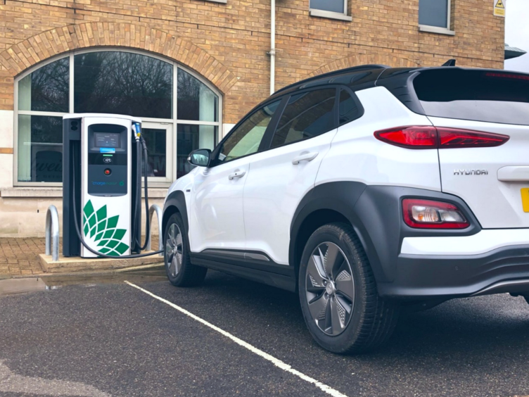 bp Chargemaster 50kW rapid charger