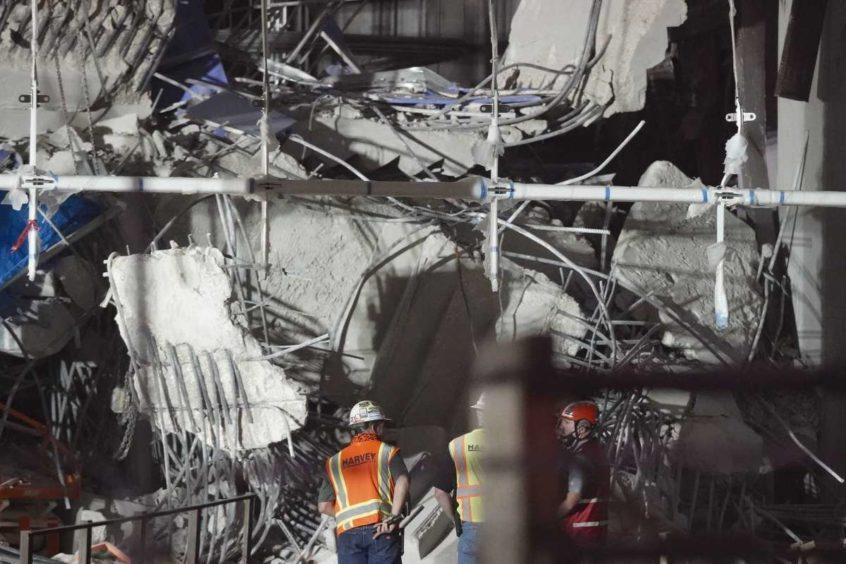 Marathon Oil stairway collapse