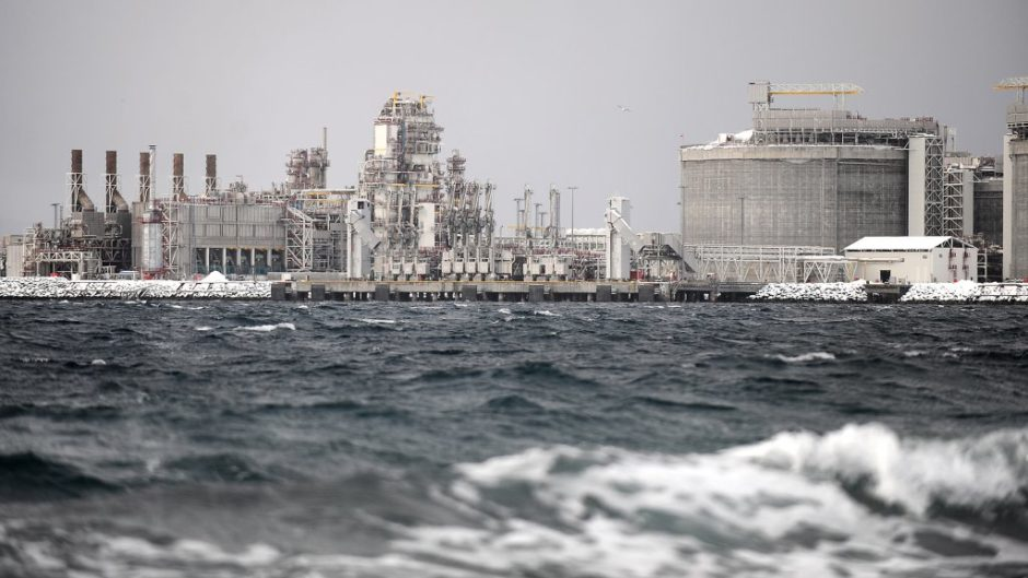 The Hammerfest LNG plant. (Photo: Helge Hansen / Equinor ASA)