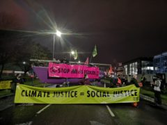 Extinction Rebellion blockades Ineos Grangemouth refinery