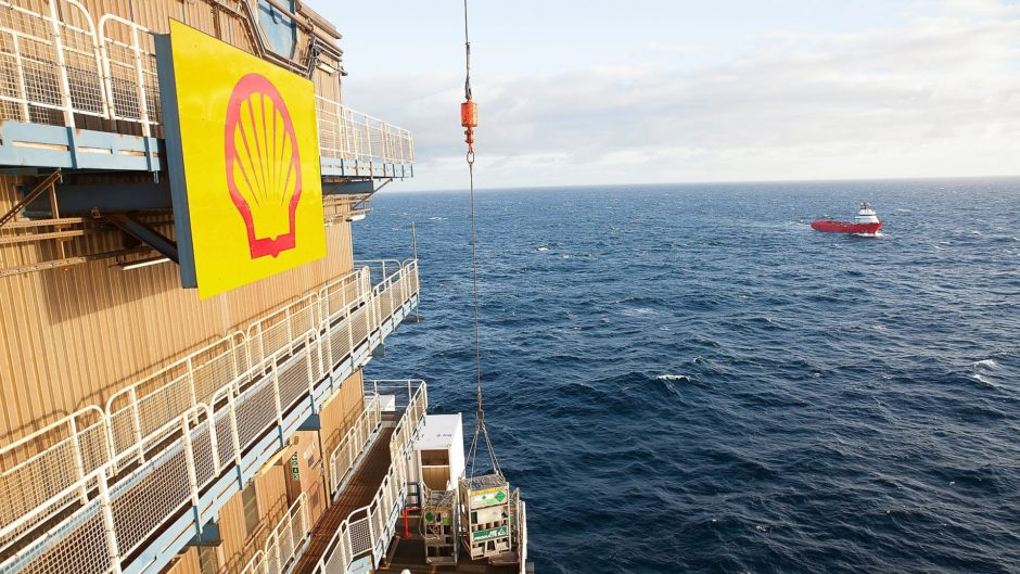 Shell CFO exploration UK