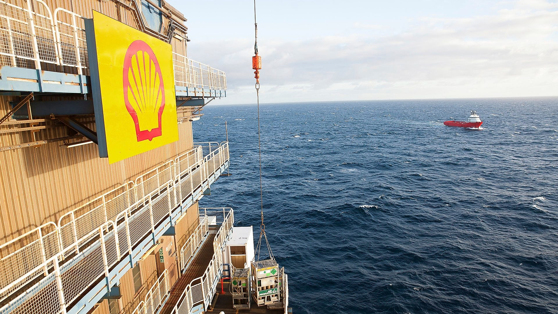 Shell CFO exploration UK
