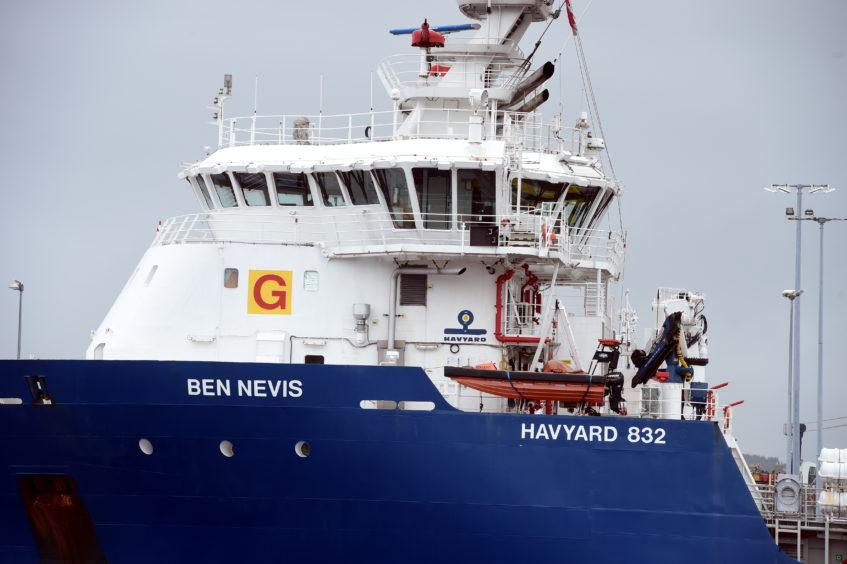 Detained Aberdeen ship