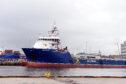 Ben Nevis supply vessel