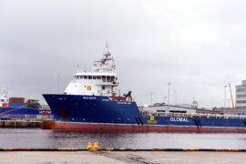 Detained ship in Aberdeen Harbour released after crew paid