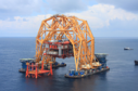 In 2012, Versabar's VB 10,000 lift system installed a 3,500-ton refurbished platform in the first installation operation the system has performed. In 2011 the VB 10,000 was used to decommission the platform from its previous block location.