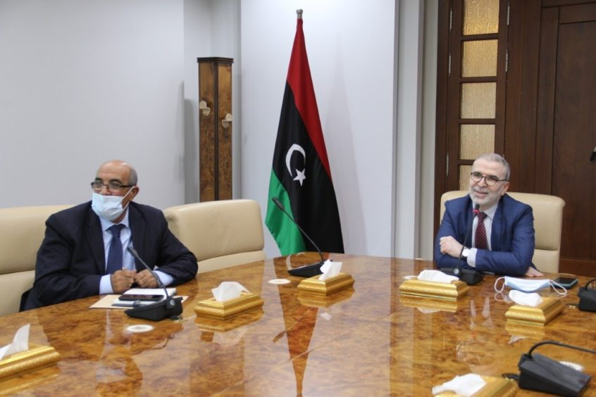 Total has held virtual talks with NOC on a potential expansion of its work in Libya, while some encouraging signs have been seen for security.
