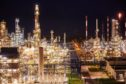 Pipework and refining towers at an oil refinery in Poland. Photographer: Bartek Sadowski/Bloomberg