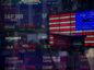 Monitors displaying stock market information are seen through the window of the Nasdaq MarketSite in the Times Square neighborhood of New York, U.S., on Thursday, March 19, 2020.  Photographer: Michael Nagle/Bloomberg