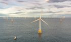 The 588 MW Beatrice Offshore Wind Farm off the Caithness coast. Image: SSE