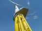 A turbine on Burbo Bank offshore wind farm. East Irish Sea. Supplied by Orsted.