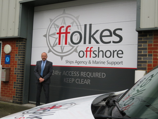 Ffolkes Offshore operations manager Andy Surplice