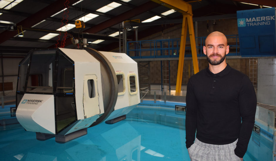 Scott Taylor, Maersk Training UK Head of Commercial