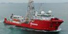 Fugro Mariner vessel. Supplied by Piet Sinke