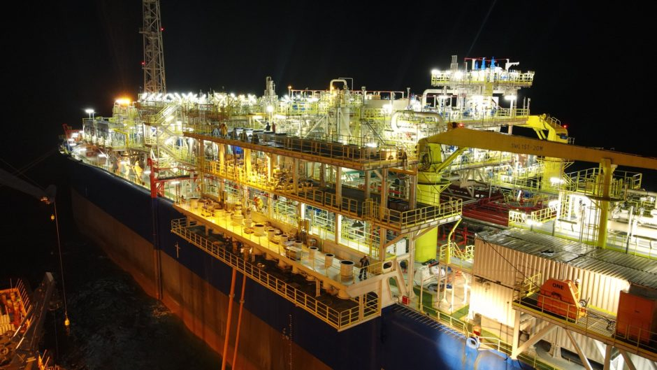 NNPC and First E&P have reached first oil offshore the Niger Delta, using conductor-supported platforms and an FPSO from Yinson.