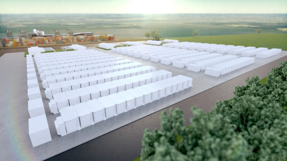 An artist's impression of the Gateway site.
