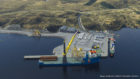 """More than 200 jobs will be created with what is being described in the industry as the """"transformational"""" development of a new deep water terminal in Stornoway."""