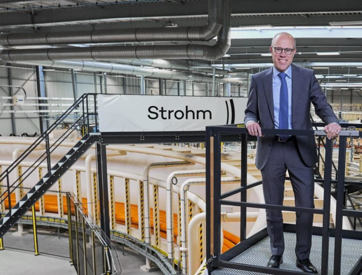 Martin van Onna, chief commercial officer, Strohm. Netherlands.