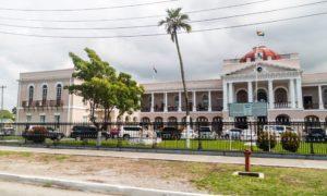 Guyana parliament building