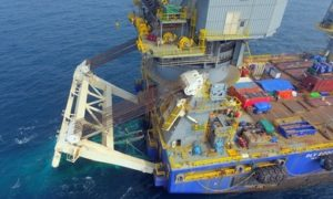 McDermott used its Derrick Lay Vessel 2000 to perform its first S-lay piggy-back pipelay.