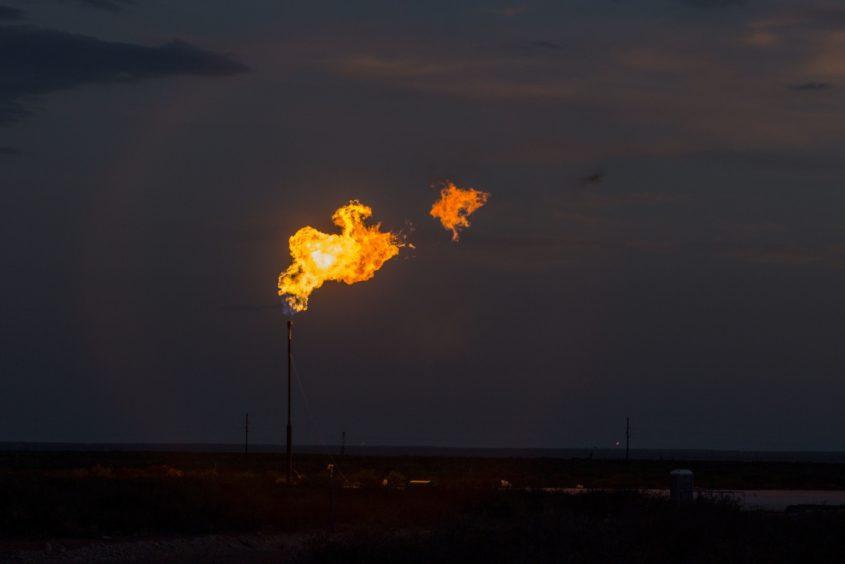 BP flaring