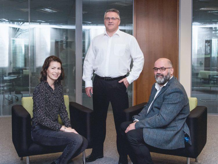 Assurance of Learning co-owners, Tijana Berlafa, Duncan Bonner, and David Christie (Photo credit: Iska Birnie Photography)