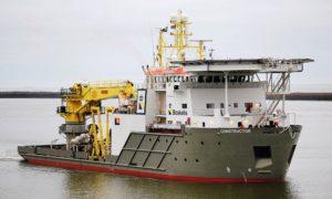 Boskalis' Constructor diving support vessel.