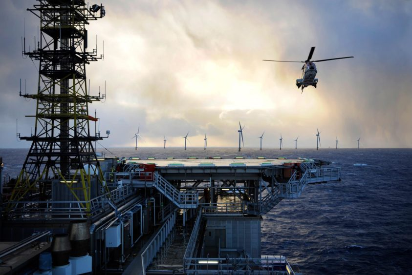 offshore wind helicopters