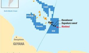 Total and Apache have celebrated a fourth find offshore Suriname, with work ongoing in pursuit of deeper targets.
