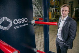 Centrifuges Un-Limited rebrands to OSSO, appoints new CEO
