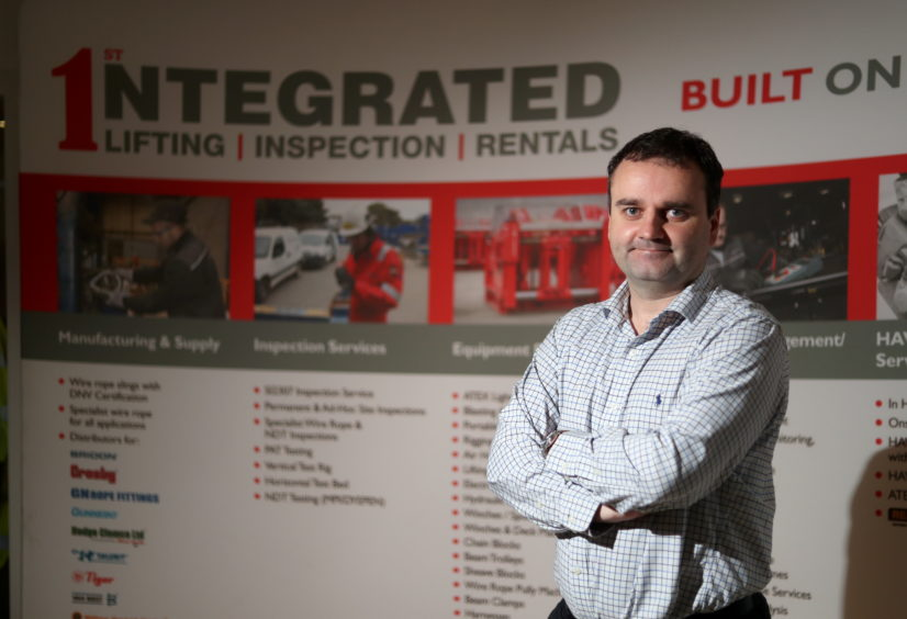 Martin Suttie, a director of First Tech group and managing director of subsidiary First Integrated Solutions.