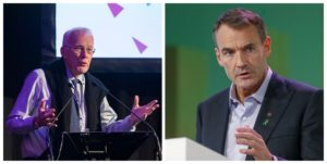 BP chief Bernard Looney and Sir Ian Wood on UK Government 'Build Back Better' Council