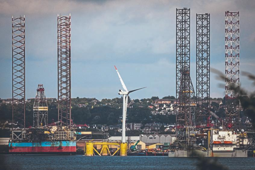 offshore wind farm Aberdeenshire
