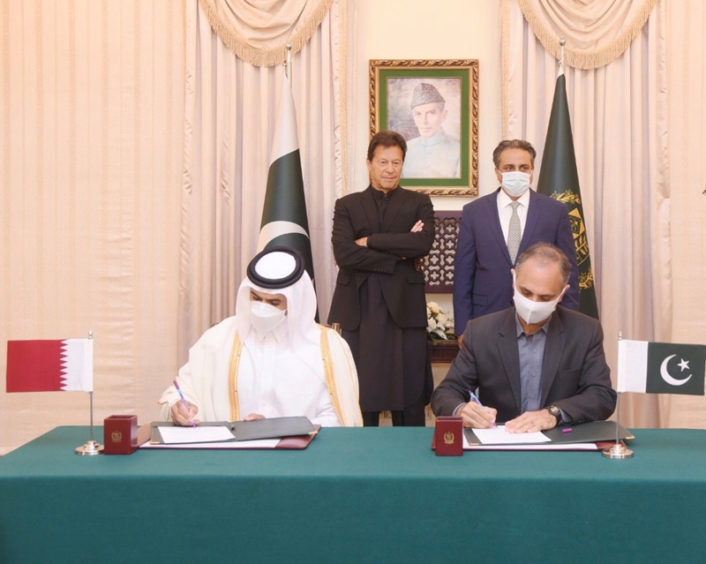"""Qatar Petroleum will supply 3mn tpy of LNG to Pakistan, which could be """"one of the world's fastest growing"""" markets."""