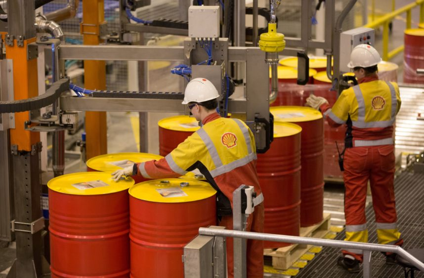 Shell salaries freeze