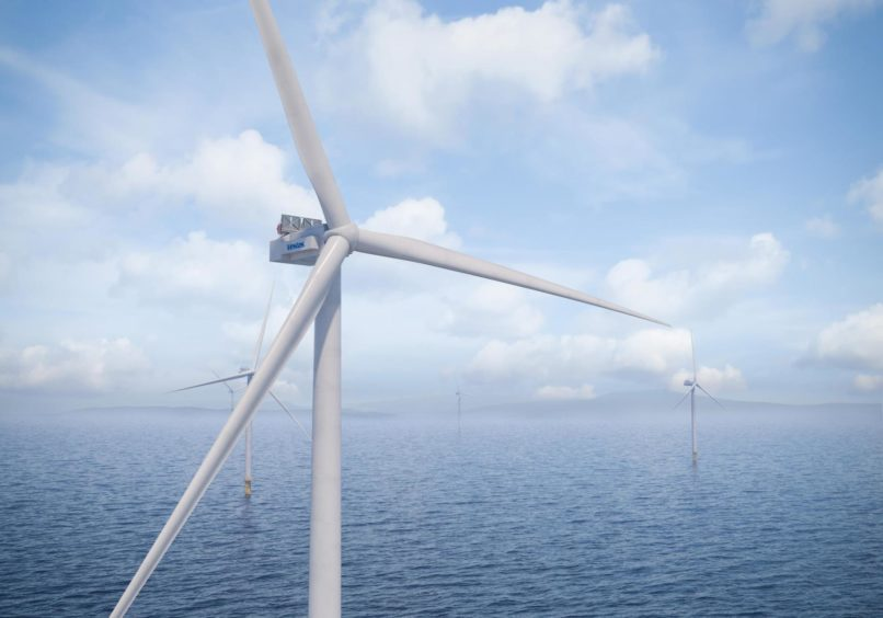 An artist's impression of the V236-15.0MW.