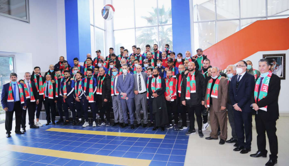 MC Alger supporters attacked Sonatrach headquarters this week, in protest at the club's poor performance amid delayed wages.
